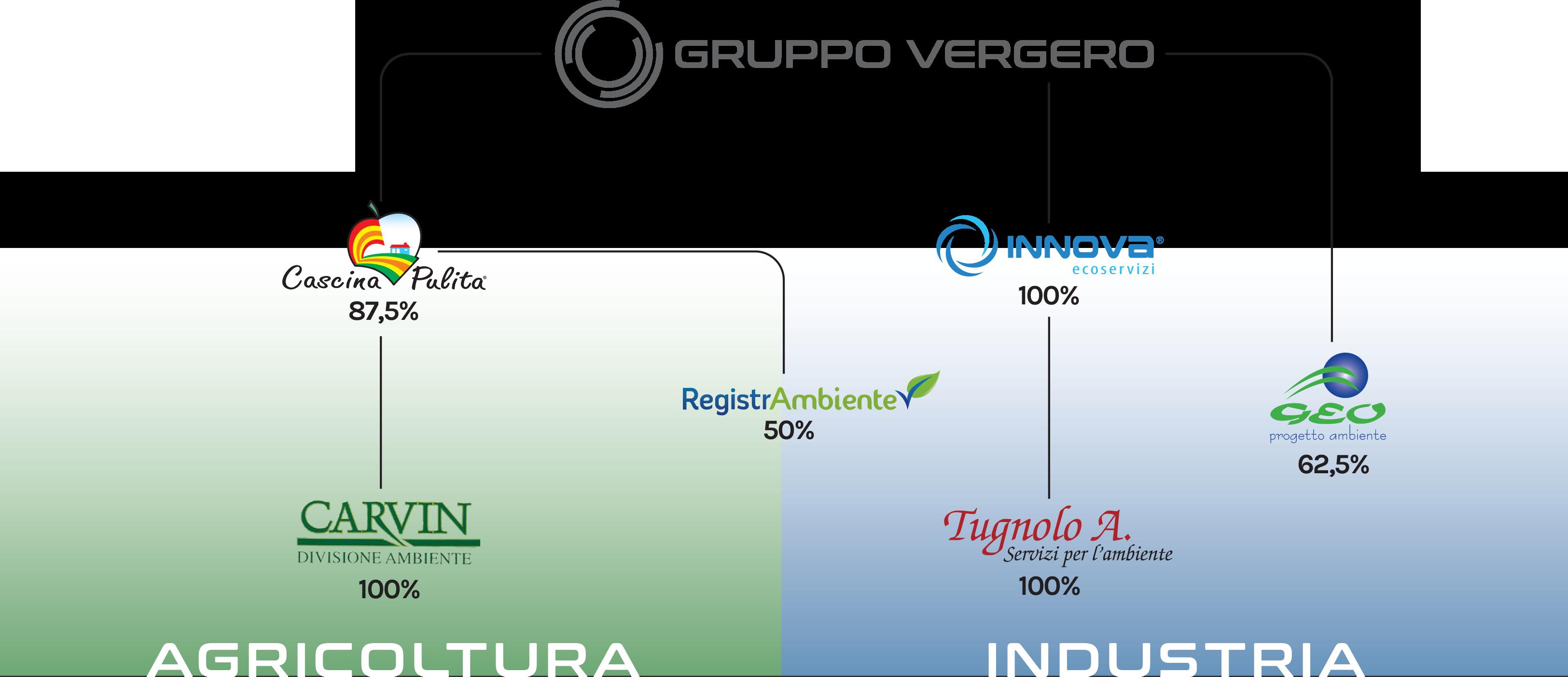 Struttura Societaria - Gruppo Vergero